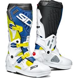 Sidi Atojo SRS S21, boots - Neon-Gelb/Weiß/Blau - 45 EU