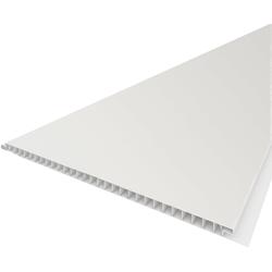 Baukulit VOX Verkleidungspaneel B25 glatt, BxL: 260x25 cm, (Set, 5-tlg) weiß