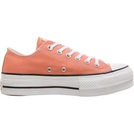 Converse Chuck Taylor All Star Platform Low Top desert peach/white/black 41