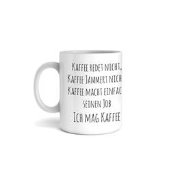 Kreative Feder Tasse, Tasse mit Motiv, Keramiktasse, fasst ca. 300ml, Kaffe, Tee, Bürotasse, Büro, Eule, Spruch, Humor