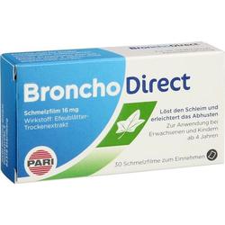 BronchoDirect Schmelzfilm 16 mg