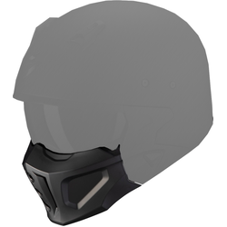 Scorpion Covert-X Maske, schwarz