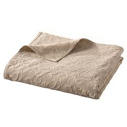 Sofaüberwurf natur ca. 250/370 cm