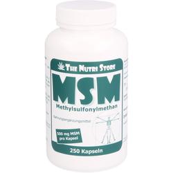 MSM 500 mg Methylsulfonylmethan Kapseln 250 St.