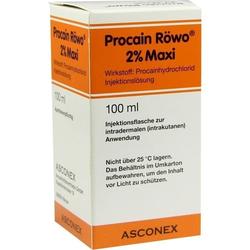 Procain Röwo 2% Maxi