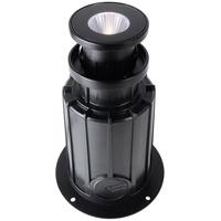 Deko-Light Deko Light NC COB I Rund Bodeneinbaustrahler Außen LED schwarz IP67 410lm 3000K >80 Ra 24° Modern
