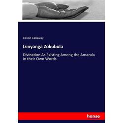Izinyanga Zokubula als Buch von Canon Callaway