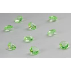 Deko Diamanten Dekosteine Tischdeko Dekoration 10mm - grün