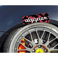dapper Aufkleber low lws style sticker dirty deep abgelegt Sticker Blumen Car Style sticker bomb