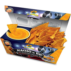 El Sabor Nacho n Dip Cheese Chili Nachos mit Cheese Dip 175g 6er Pack