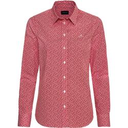 Gant Popeline-Bluse Rot (Größe: 44)