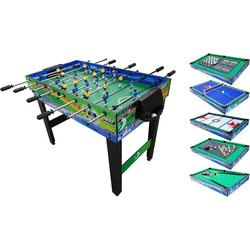 Best Sporting Kickertisch Multifunktionstisch 10-in-1 122 x 61 x 82,5cm