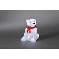 Konstsmide 6159-203 Acryl-Figur Eisbär LED Weiß