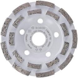 Bosch Powertools Schleifteller Expert for Concrete, Ø 125 cm, Diamanttopfscheibe: 125 x 22,23 x 5 mm grau