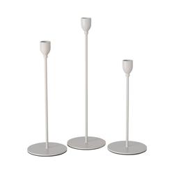 """BOLTZE Kerzenständer 3-tlg. Kerzenständer Set """"Malte"""" H23-33cm"""