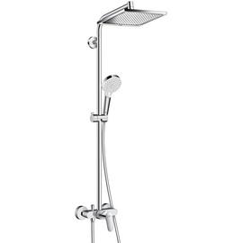 HANSGROHE Crometta E Showerpipe 240 1jet mit Einhebelmischer chrom 27284000