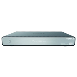 Humax UHD 4tune+ Set-Top-Boxen - Sat Receiver - schwarz/grau SAT-Receiver