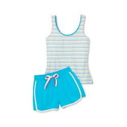 Tchibo - Shorty-Pyjama - Weiß - Gr.: XL