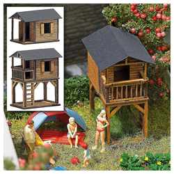 Busch Modellbausatz Spielhäuser H0