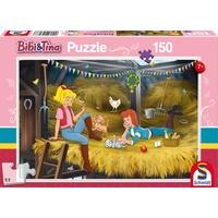 Schmidt Spiele Puzzle Bibi&Tina: Auf Heuboden, 150 Teile