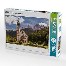 Südtirol - Land der Berge und Seen Lege-Größe 64 x 48 cm Foto-Puzzle Bild von Peter Lachenmayr Puzzle