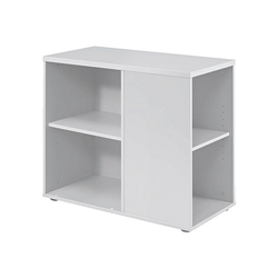 HAMMERBACHER Container, Rollcontainer Flexiline II für ca. 18 Ordner (Ordnerbreite: 8 cm) weiß