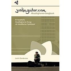 Justinguitar.com - Das Akustikgitarren-Songbook. Justin Sandercoe  - Buch