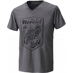 Held Be Heroic T-Shirt Herren - Grau - L