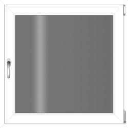 RORO Türen & Fenster Kunststofffenster, BxH: 75x75 cm, ohne Griff