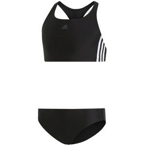 adidas Fit 3-Streifen Bikini Kinder schwarz/weiß 164