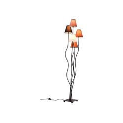 KARE Stehlampe Stehlampe Flexible Mocca Cinque