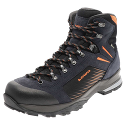 Lowa VIGO GTX Navy Orange Herren Trekkingschuhe , Grösse: 41.5 (7.5 UK)