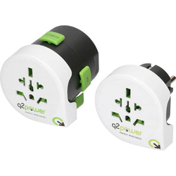 Q2 Power 2.100120 Reiseadapter 2er Set