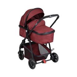 Safety 1st Kombi-Kinderwagen Kinderwagen, Hello 2in1, Geometric rot