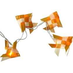 Guru-Shop LED-Lichterkette Lichterkette `mare` - weiß/gelb