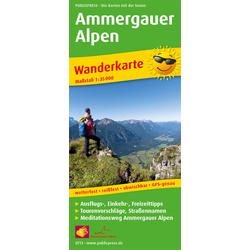 Ammergauer Alpen 1:35 000