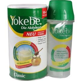 Yokebe Aktivkost Classic Pulver 500 g + Shaker Starterpaket