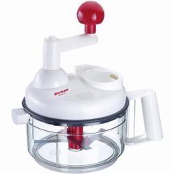 WESTMARK Multi-Kulti Küchenmaschine, Manuelle Küchenmaschine mit 11 Zubehörteilen für 9 Funktionen, 1 Stück