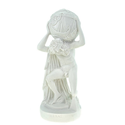 Kremers Schatzkiste Dekofigur Alabaster Deko Figur Atlas 21 cm