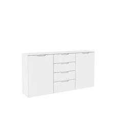Forte Kommode Sienna in weiß, ca. 165 cm Breit