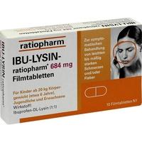 Ratiopharm IBU-LYSIN-ratiopharm 684 mg Filmtabletten