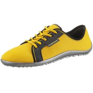 Leguano Barfußschuh AKTIV Sneaker mit ergonomischer Formgebung gelb 45