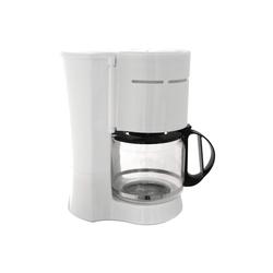 Kaffeemaschine COOK IT 1000 Watt 10-12 Tassen 1,2L Weiß