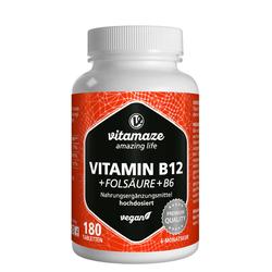 B12 1.000 µg hochdosiert+B9+B6 vegan