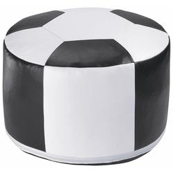 Home affaire Pouf Fußball, Sitzkissen