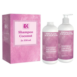 Brazil Keratin Coconut Shampoo 2x550ml