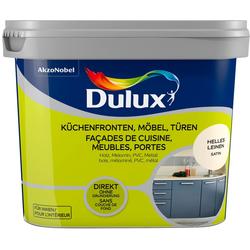 Dulux Holzlack Fresh Up, für Küchen, Möbel und Türen, hell leinen, 0,75 l