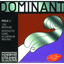 Thomastik Dominant Viola A-Saite 4/4 136 - Mittel - Nylonkern