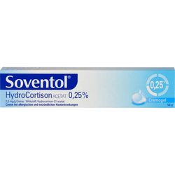 SOVENTOL Hydrocortisonacetat 0,25% Creme 50 g