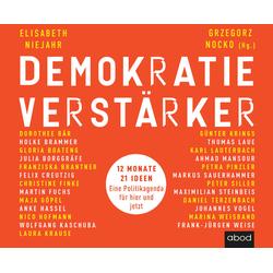 Demokratieverstärker als Hörbuch CD von Elisabeth Niejahr